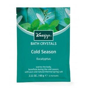 Kneipp Mineral Bath Salt Crystals Cold Season Eucalyptus  (60g)