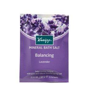 Kneipp Mineral Bath Salt Crystals Balancing Lavender (60g)