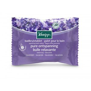 Kneipp Sparkling Bath Tablet Balancing Lavender (80g)