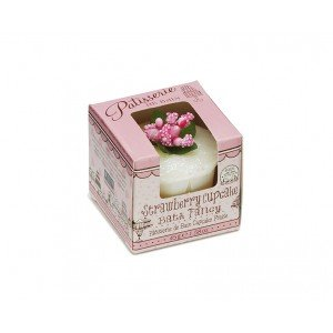 Patisserie de Bain Bath Fancy Boxed Strawberry Cupcake (1pc)