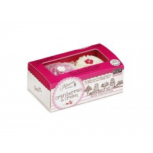 Patisserie de Bain Bath Tarlette Duo Cranberries  Cream (2 x 45g)