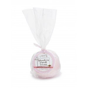 Patisserie de Bain Bath Bomb Strawberry Cupcake